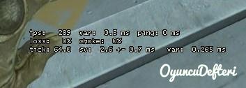 cs:go ping değerini gösterme