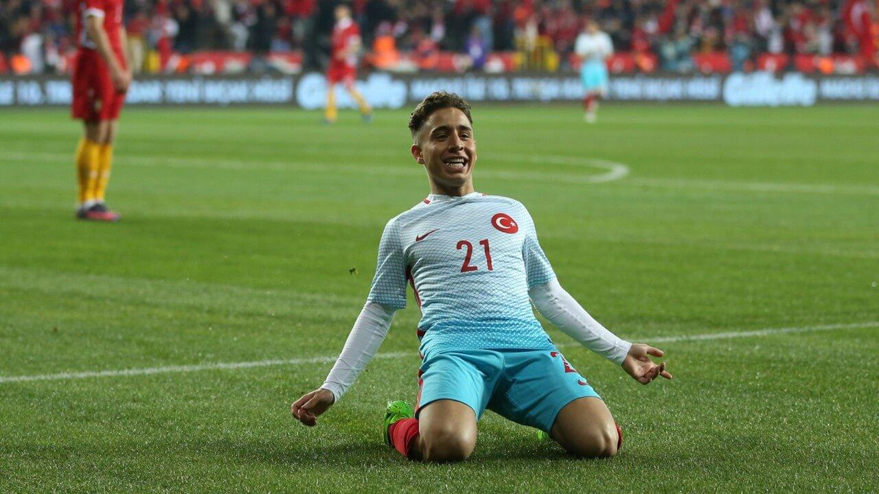 FIFA 18'de Bayrak Astıran Potansiyele Sahip 10 Türk Futbolcu - emre mor
