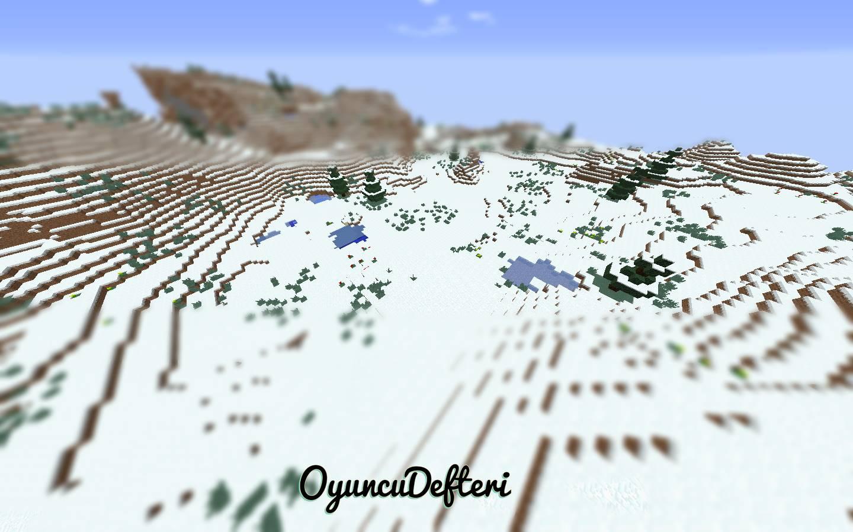 minecraft yeni snapshot minecraft buz dağları