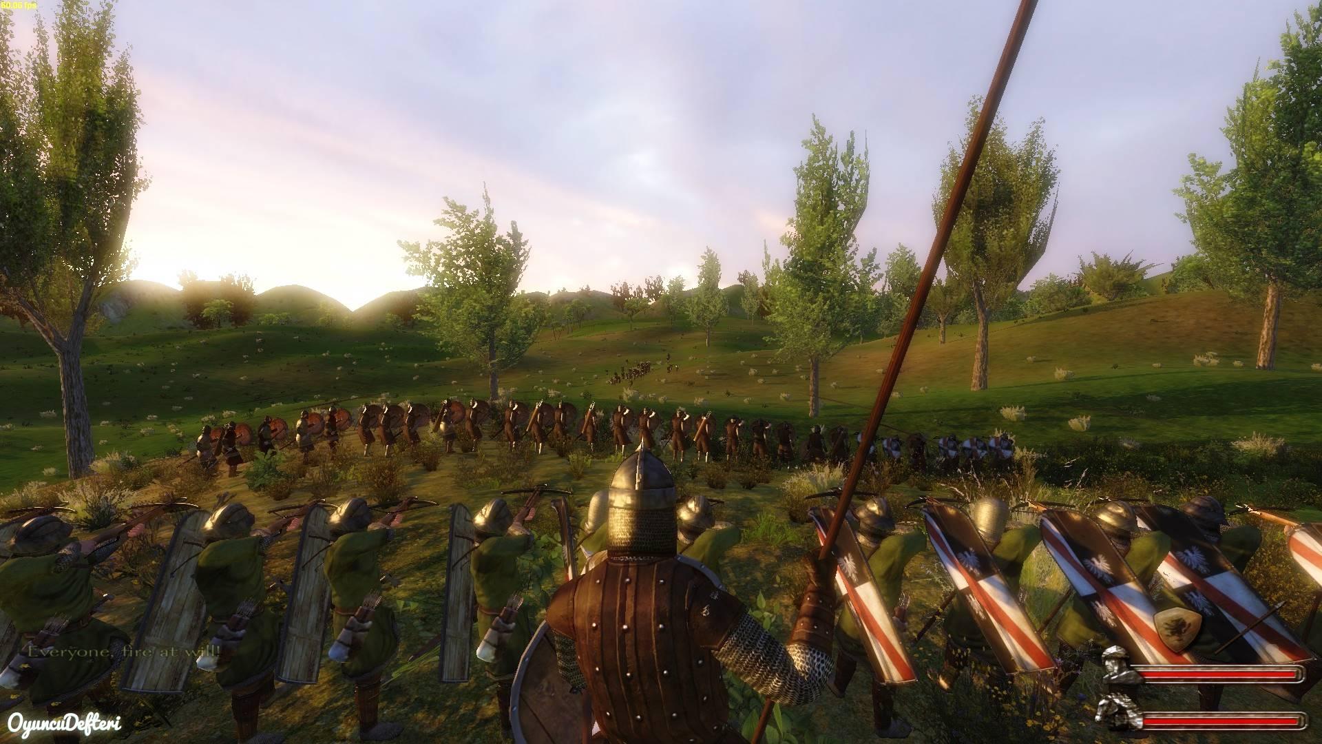 Mount and Blade Ordu kurma diziliş