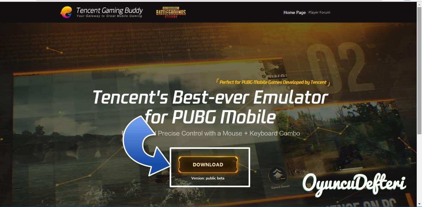 PUBG Mobil PC versiyon indir