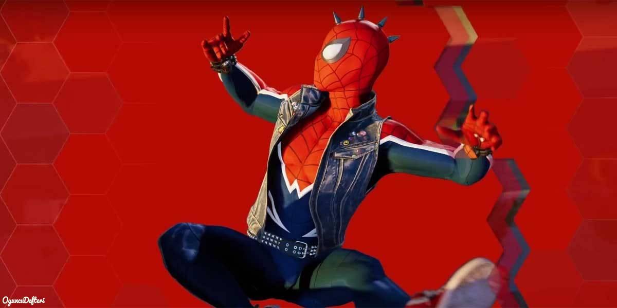 PS4 Spider-Man Kostümler Örümcek adam tarz kostüm