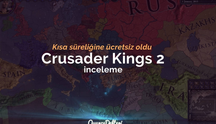 Crusader Kings 2 ücretsiz oldu